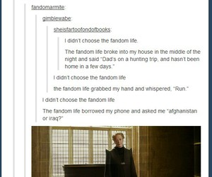 fandom, harry potter, and tumblr image