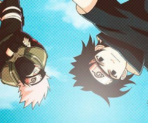 anime, kakashi, and kawaii image