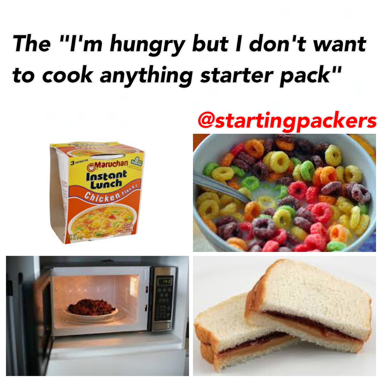 funny, true, and starterpacks image