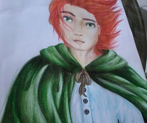 color, drawing, and color pencils image