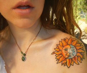 boho, tattoo, and hippie image
