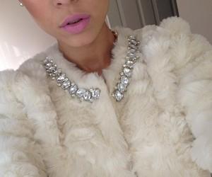 girl, fashion, and diamond image