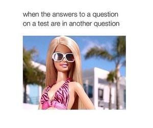 barbie, funny, and test image
