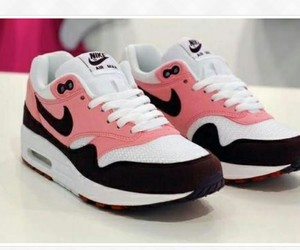 girl, pink, and airmax image