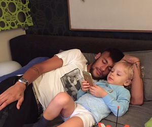 father, neymar jr, and son image