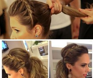 braid, chique, and hairstyles image