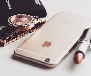 iphone, lipstick, and mac image