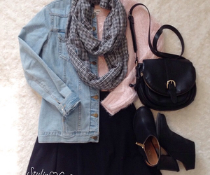 fashion, girly, and winter image