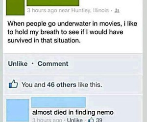 comments, facebook, and funny image