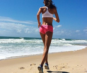 running, sport, and fit image