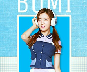 blue, kpop, and apink image