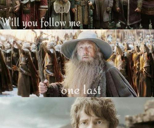 dwarf, the hobbit, and thorin image