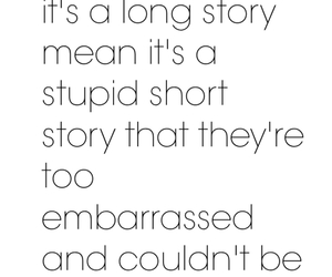 quote, story, and true image