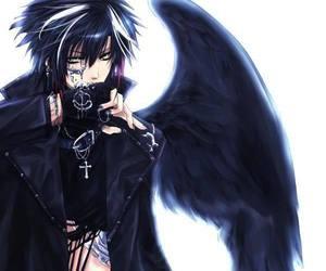 anime, boy, and angel image