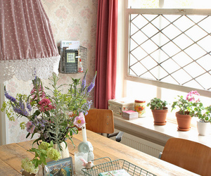 decoration, vintage, and living room image