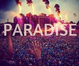 paradise, Tomorrowland, and music image