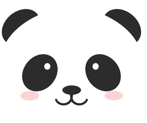 panda, cute, and wallpaper image