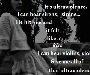 quotes, ultraviolence, and lana del rey image