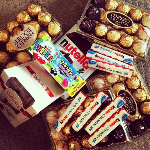 candy, My World, and nutella image