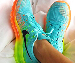 fitness, nike, and nikes image