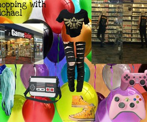imagine, outfit, and game stop image