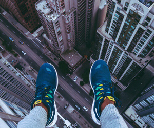 architecture, sneakers, and buildings image