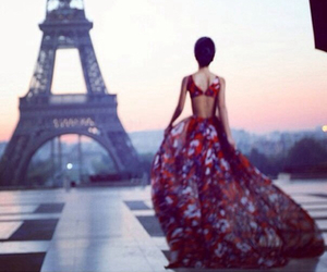 paris, dress, and luxury image