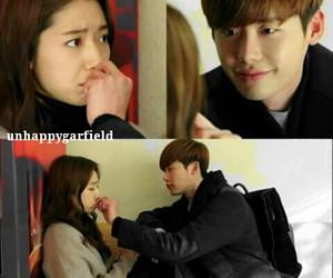 cute couple, funny, and Korean Drama image