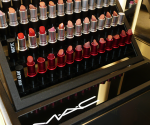mac, lipstick, and M.A.C image