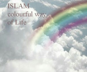 sky, colorful, and islam image