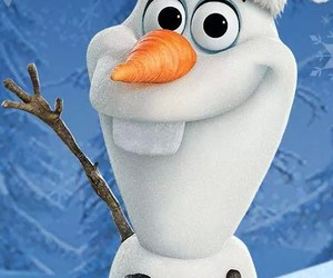 frozen, winter, and olaf image