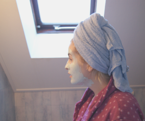 fashion, girl, and facemask image