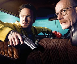 breaking bad, walter white, and jesse pinkman image