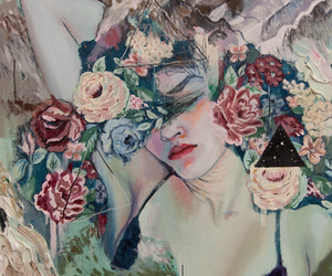 art, painting, and alexandra levasseur image