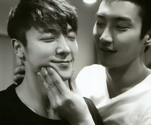 donghae and siwon image