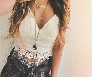 fashion, outfits, and hairstyle image
