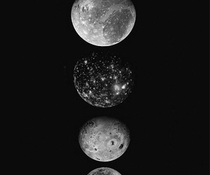 background, moon, and moonlight image