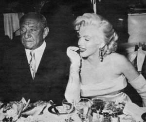 Marilyn Monroe and jag vill dig inget image