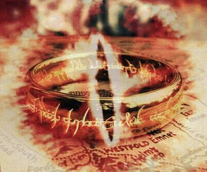 lord of the rings, LOTR, and one ring image