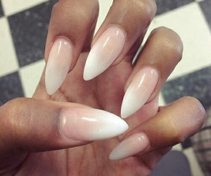nails, luxury, and white image