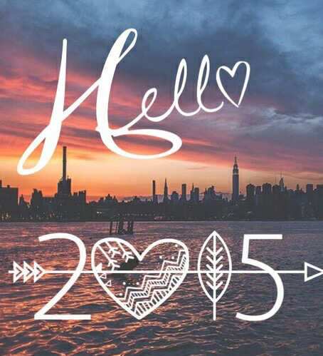 2015, hello, and new start image