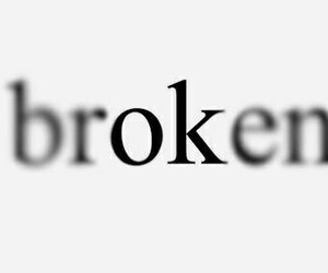 broken, ok, and quotes image