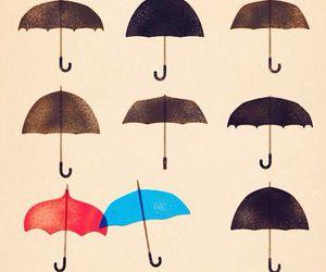 disney, umbrella, and love image