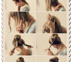 braids, Easy, and hairstyle image
