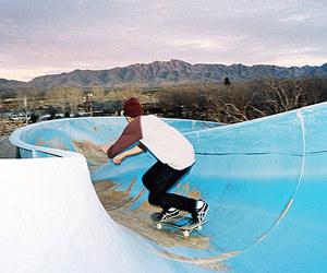 skate, skateboarding, and skating image