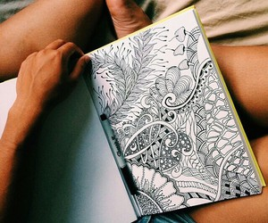 drawings, pen, and summer image