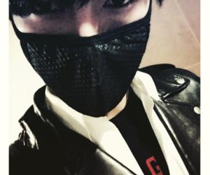 handsome, super junior, and mask image