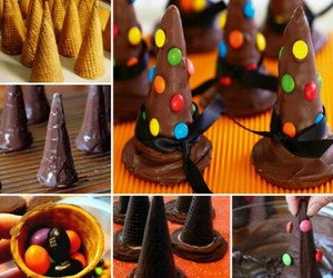 chocolate, food, and Halloween image