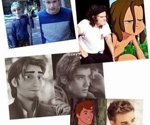 one direction, niall, and zayn image