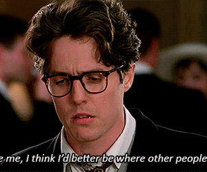 hugh grant, movie, and quotes image